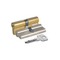 Цилиндровый механизм KALE 164 BN/90, 35х10х45 мм, перфорированный ключ, цвет латунь