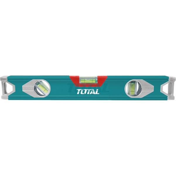 Уровень алюминиевый строительный 1000 мм TOTAL TMT21006
