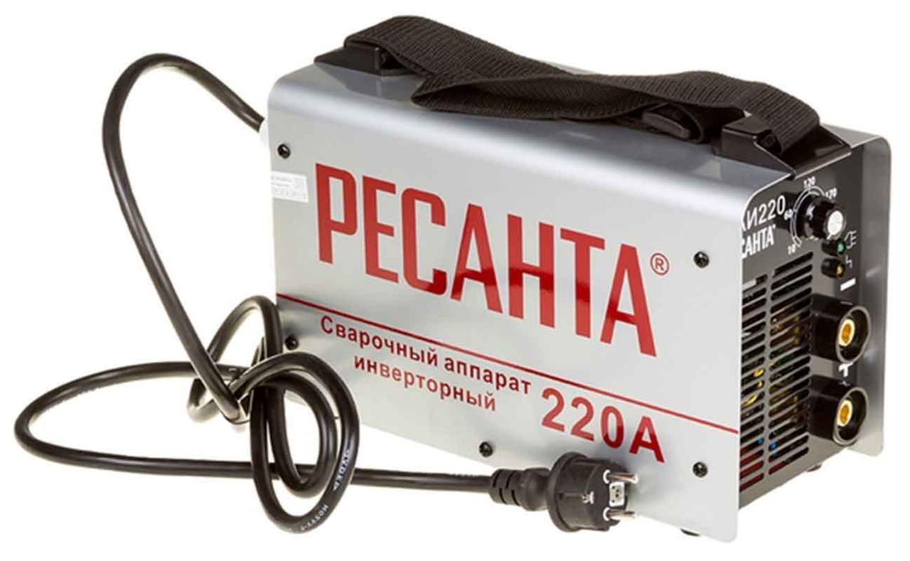 Сварочный инверторный аппарат РЕСАНТА САИ 220