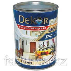 Эмаль ПФ-115, Dekor шоколадная 0,8 л