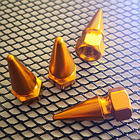 Колпачки на ниппель алюминиевые.Пики G, фото 1