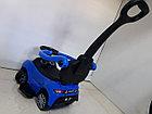 Толокар BMW с родительской ручкой и боковыми поручнями, фото 5
