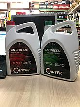 Антифриз Cartek G11 -40 зеленый и красный 5кг