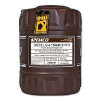 Моторное масло PEMCO G-4 SHPD SAE 15W-40 (Diesel) 20 л