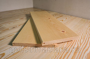 Вагонка из кедра Штиль / сорт АВ / 14х138 мм, L = 2.5-4.0 м