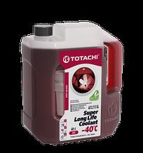 Антифриз TOTACHI SUPER LONG LIFE COOLANT RED (Красный) -40°C  2кг