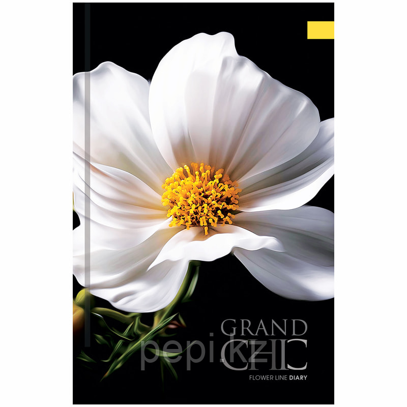 "Ежедневник недатированный OfficeSpace ""Цветы. Grand chic"" А5 136л."
