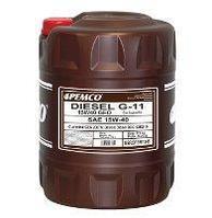 Моторное масло PEMCO Diesel G-11 GEO SAE 15W-40 20 л