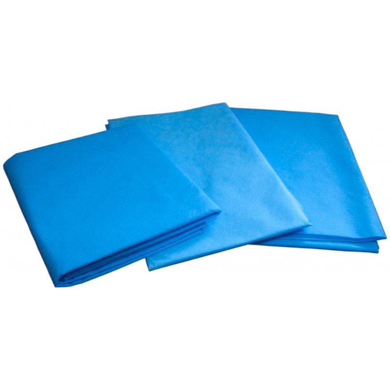 Простыня пл 42 - 2000х800 мм голубая