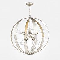 Люстра на 8 ламп в современном стиле Modern