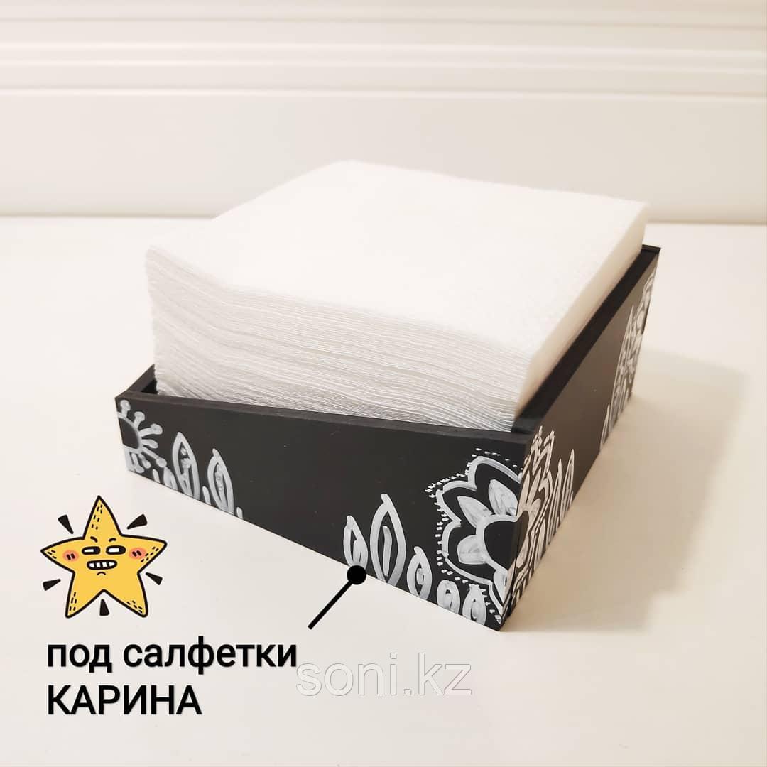 Диспенсер для салфеток (с росписью)