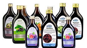Натуральные Мультивитаминные напитки и сиропы