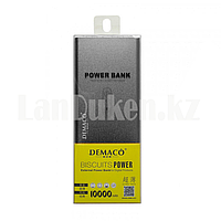 Портативное зарядное устройство DEMACO Power Bank DMK-A15 10000 mAh, черное