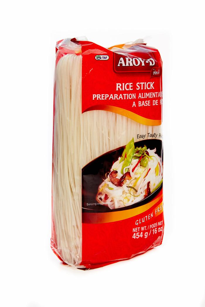 Лапша рисовая,AROY-D ,1 мм,454 гр