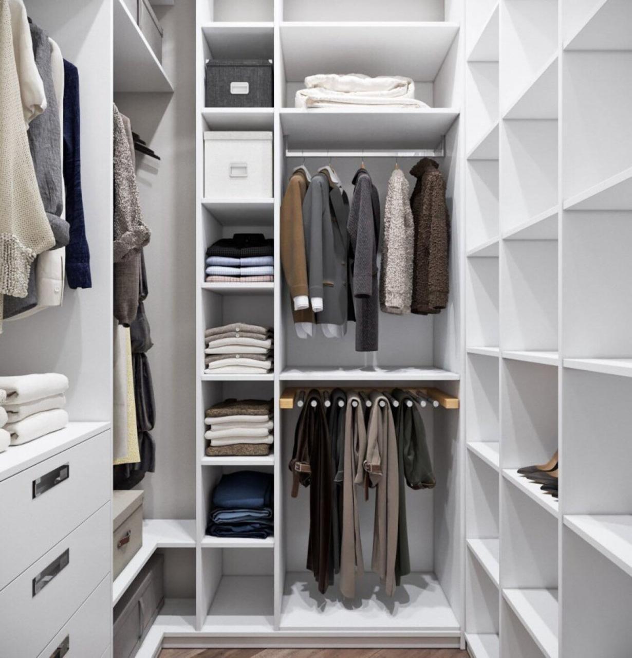 Мебель в гардеробную на заказ