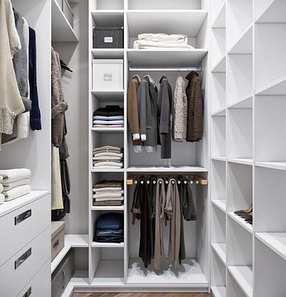 Мебель в гардеробную на заказ, фото 2