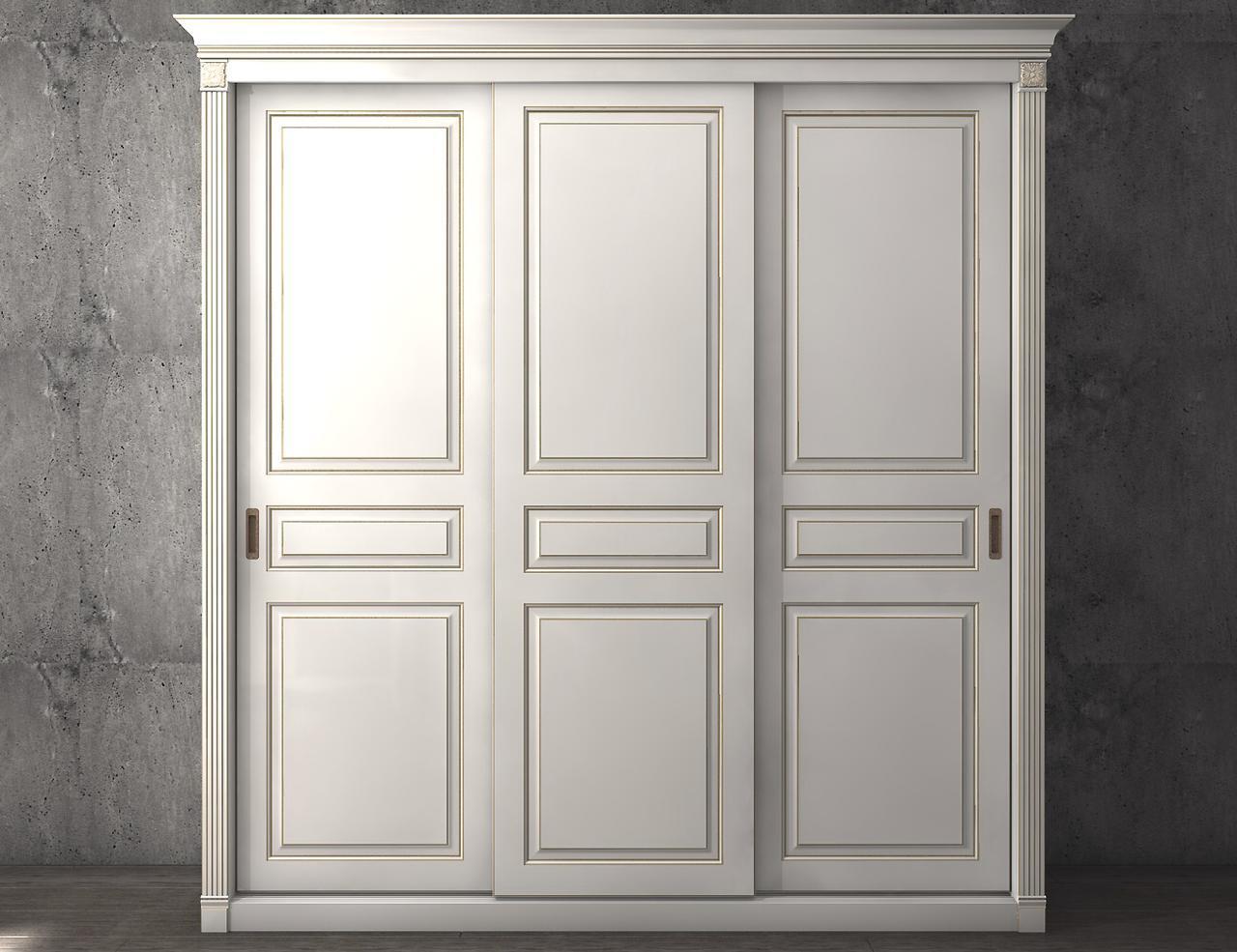 Изготовление шкафов-купе из крашенного МДФ