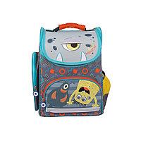 Школьный рюкзак Монстрик Гошик (серый) M19