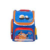 Школьный рюкзак Монстрик Гошик (синий) M18