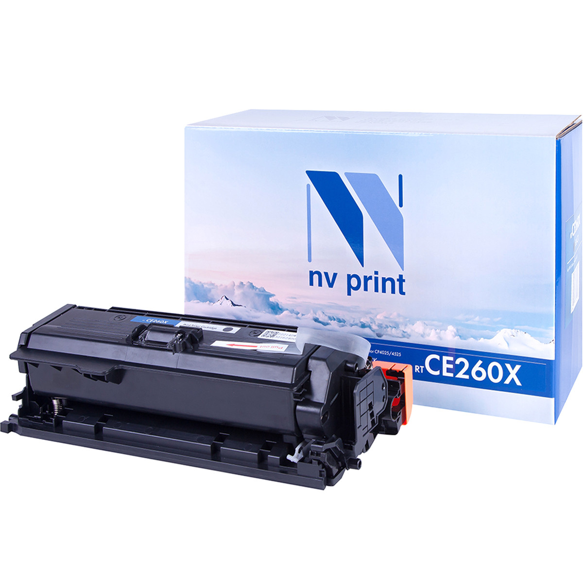 Картридж NVP NV-CE260X Black совместимый c HP  Color CP4025n   CP4025dn   CP4525n   CP4525dn   CP4525xn