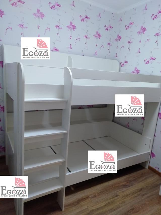 Двухъярусная кровать Polini Simple 5000 Белая