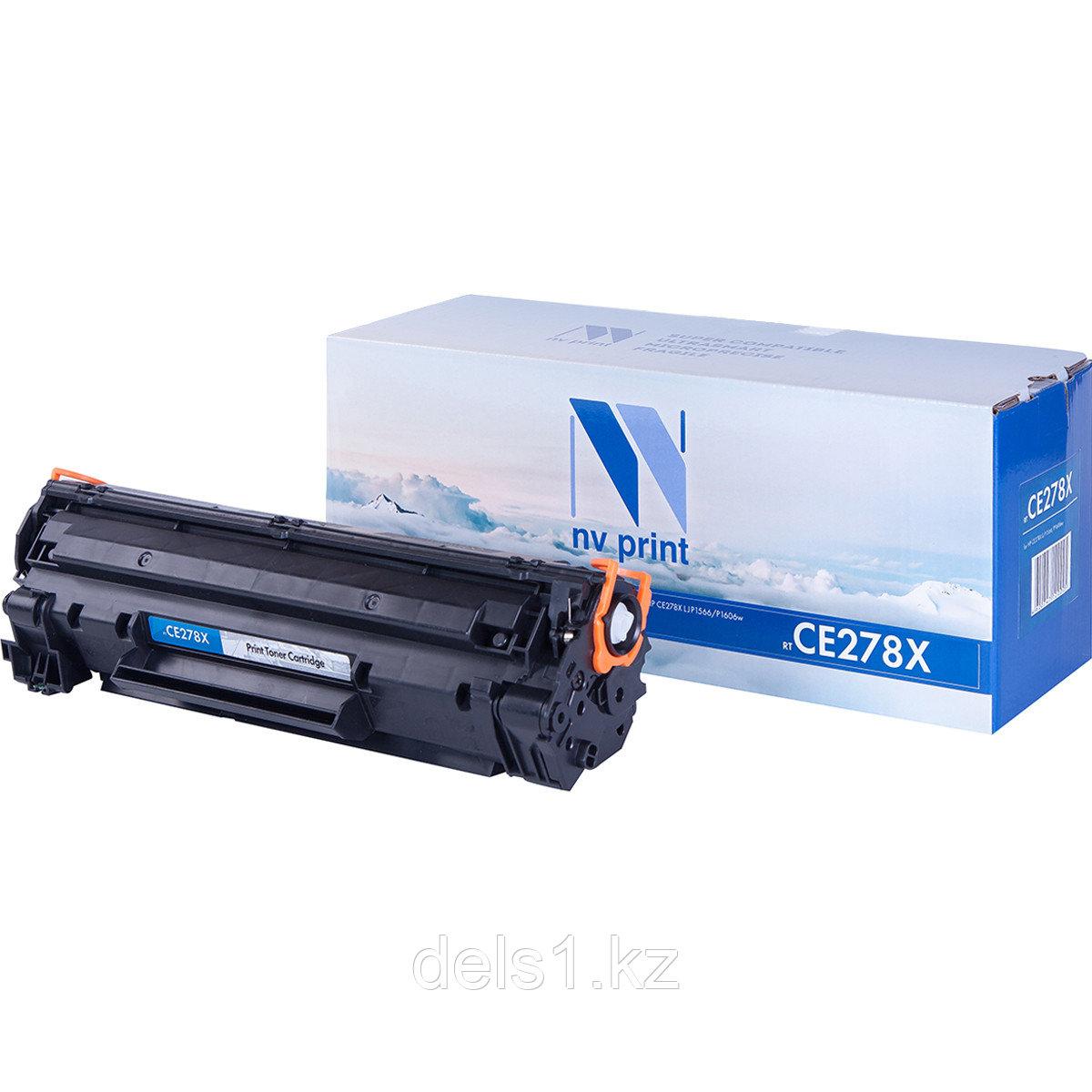 Картридж NVP NV-CE278X совместимый c HP LaserJet Pro M1536dnf | Р1566 | Р1606W