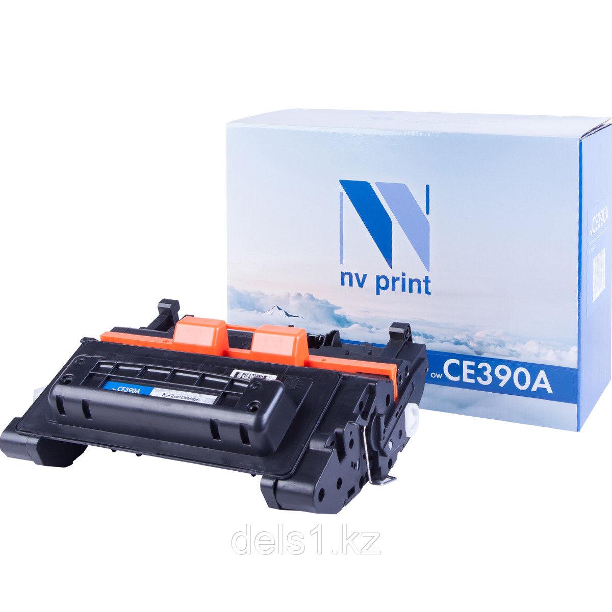 Картридж NVP NV-CE390A совместимый c HP LaserJet Enterprise