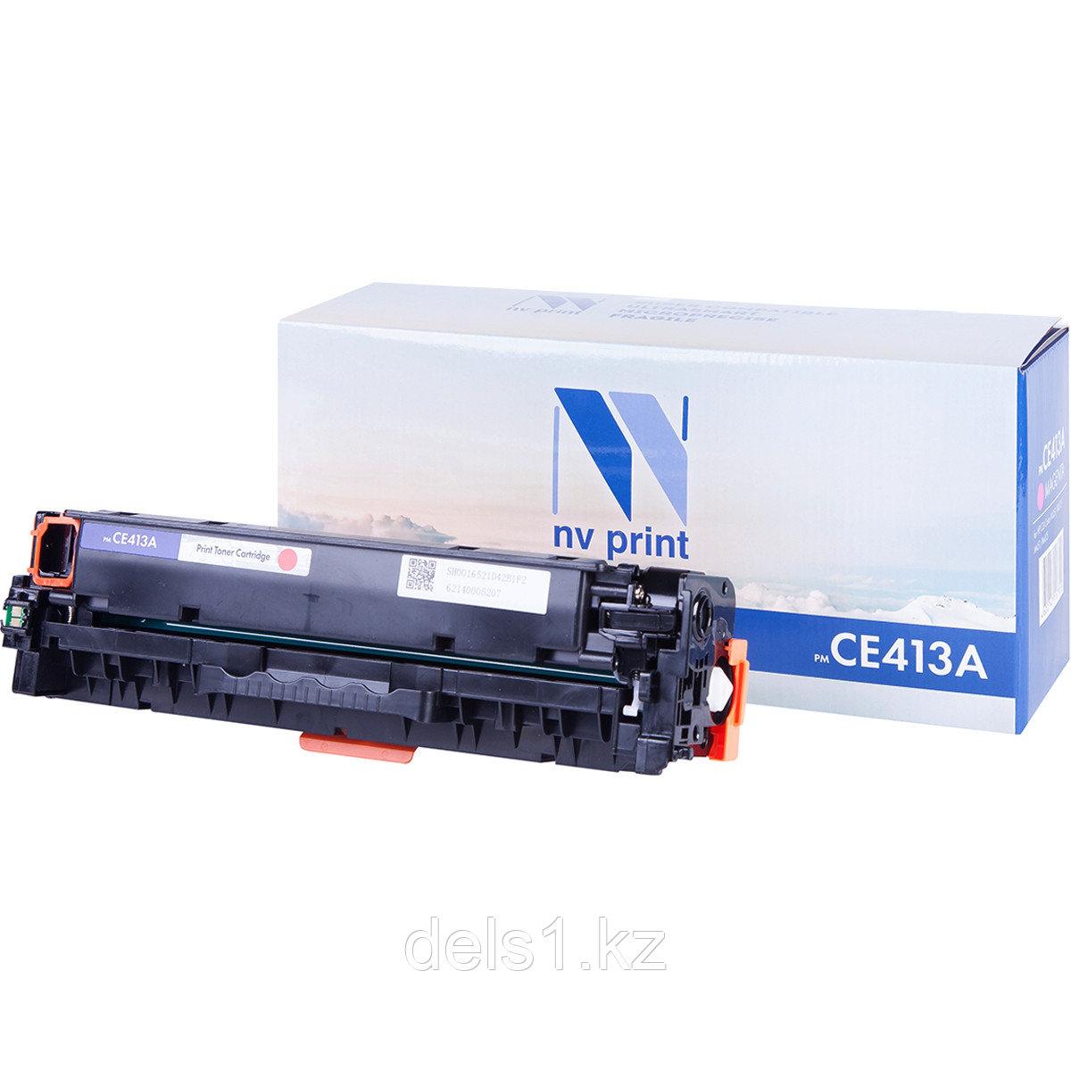 Картридж NVP NV-CE413A Magenta совместимый c HP