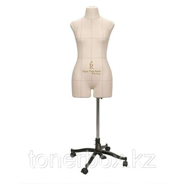 Портновский Манекен Royal Dress Forms Monica беж ( р-р 46)+стойка Милан