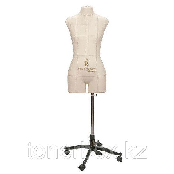 Портновский манекен Royal Dress Forms Monica бежевый (р-р 44) +стойка Милан