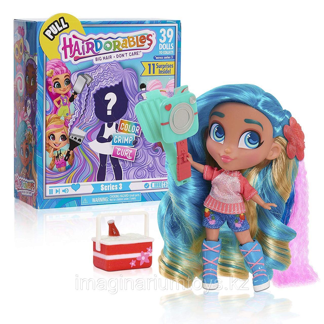 Кукла Hairdorables Хэрдораблс 3 серия