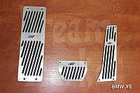 Накладки на педали BMW X5, фото 1