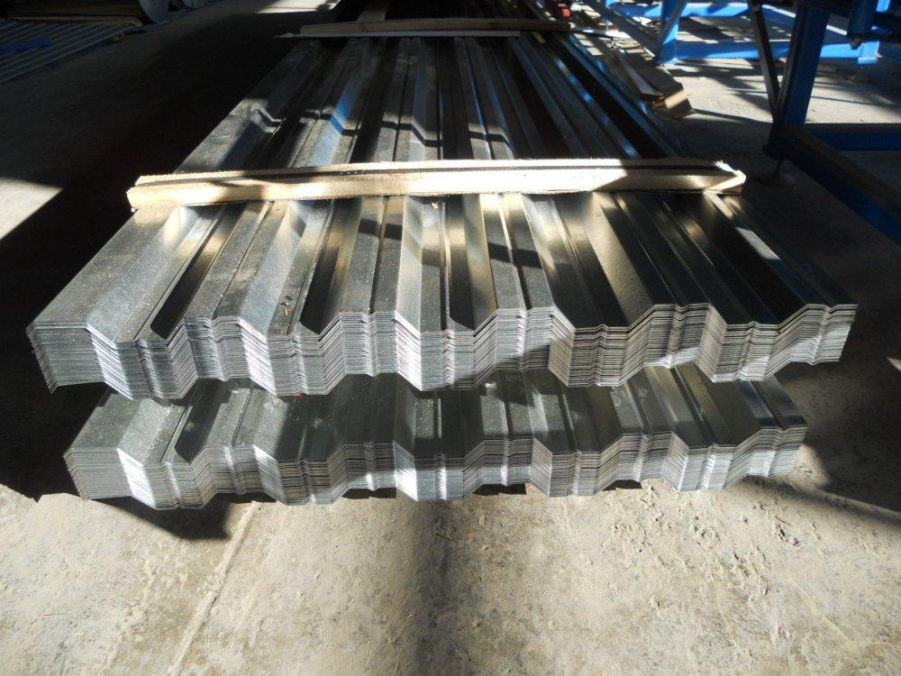 Профнастил оцинкованный 0,8 мм толщина  НС35,НС44, НC57, НC75