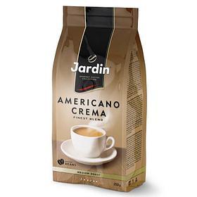Кофе молотый Jardin Americano Crema 250 гр, вакуумная упаковка