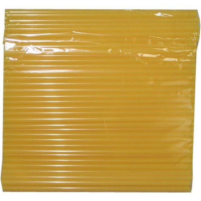 Трубочки д/коктейля прямые d=8мм L=240мм, желтые 250шт/упак, 250 шт