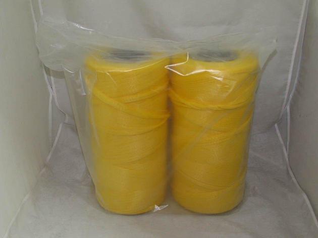 Сетка-рукав в рулоне (500м) желтая П/П, фото 2