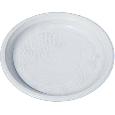 Тарелка d 220мм, бел., ПП, 750 шт, фото 2