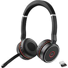 Jabra 7599-832-109 Гарнитура Evolve 75 Stereo MS incl. Link 370, Bluetooth