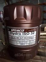 Гидравлическое масло PEMCO HYDRO ISO 32/46 CF 20 л