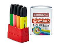 Набор текстовыделителей STABILO BOSSparade , 4 цвета