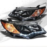 Передние фары на Camry V50 211-14 USA Black