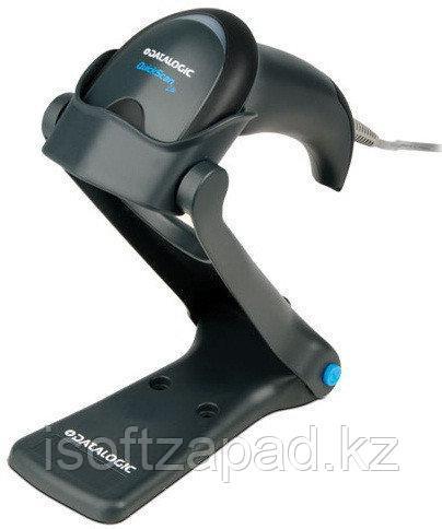 Сканер штрих-кода ручной Datalogic QuickScan Lite QW2120-BKK1S (1D) с подставкой