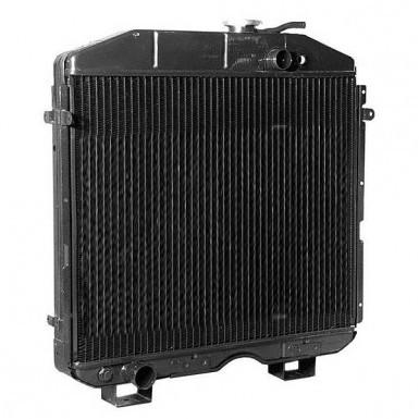 Радиатор охлаждения медный 4-рядн