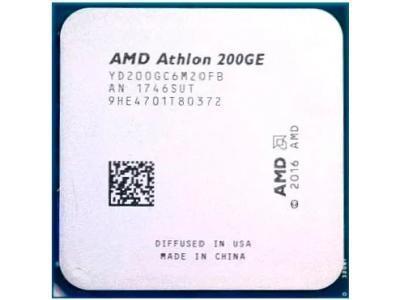 Процессор AMD Athlon 200GE Raven Ridge BOX