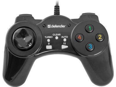 Геймпад Defender Vortex, 13 кнопок + 8-поз