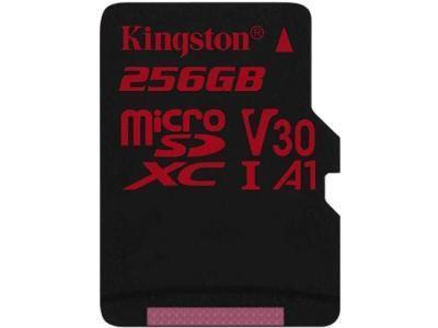 Карта памяти Kingston Canvas React SDCR 256GB