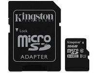 Карта памяти Kingston Canvas Select SDCS 16GB