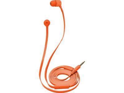 Наушники-вкладыши Trust DUGA IN-EAR - оранжевый неон
