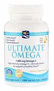 Nordic Naturals, Ultimate Omega, со вкусом лимона, 1,280 мг, 60 желатиновых капсул, фото 3