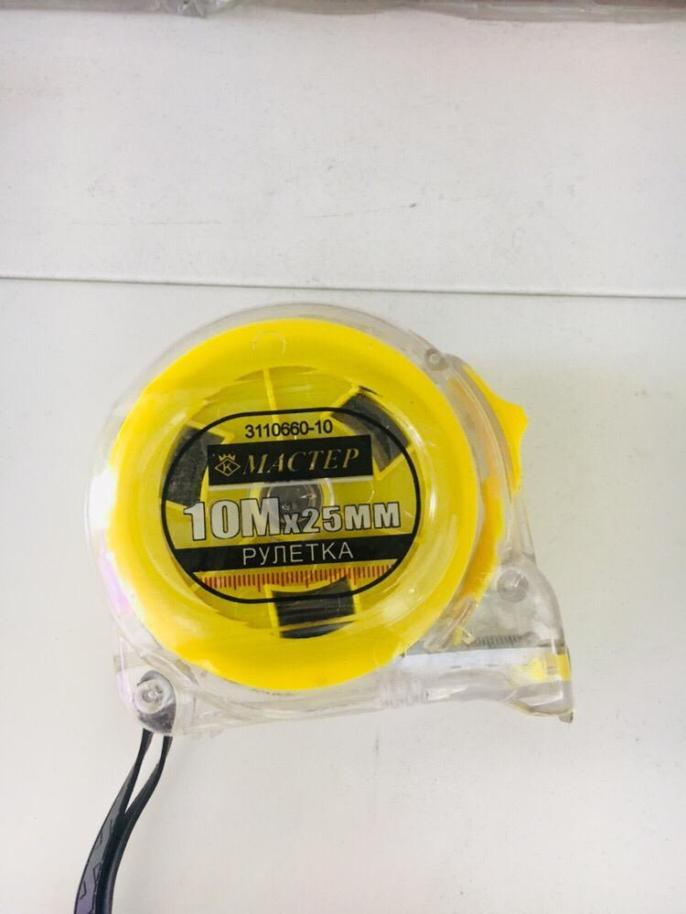 Рулетка измерительная 10м / 25 мм
